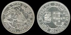 1000 Escudos -prata 1995