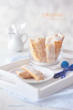 Cafe Amaretto: Crostoli z marmoladą dyniowo-pomarańczową