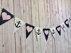 Check out our nautical bridal shower decorations selection for the very best in unique or custom, handmade pieces from our party décor shops. Nautical Bachelorette Party, Nautical Bridal Showers, Bachelorette Party Planning, Bachelorette Party Decorations, Nautical Wedding, Bridal Shower Decorations, White Ribbon, Felicia, Shower Party