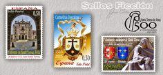 SELLOS FICCIÓN: V Centenario, nacimiento de Santa Teresa, 1515-2015