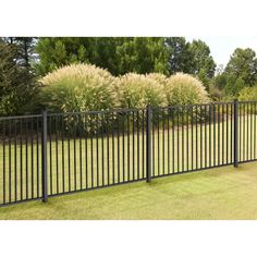 H x 7 ft. W Slim Jim Fence Panel 4 ft. H x 7 ft. W Slim Jim Fence ft. H x 7 ft. W Slim Jim Fence Panel, Stratco Aluminium Picket Fence Steel Fence Panels, Vinyl Fence Panels, Garden Fence Panels, Front Yard Fence, Garden Fencing, Lattice Fence, Garden Shrubs, Outdoor Fencing, Vinyl Railing