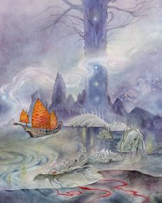 """""""Ships Passing in the Night"""", Stephanie Pui-Mun Law"""