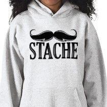 Mustache Sweatshirt (: