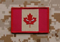 Subdued Canada Punisher Flag Patch Joint Task Force 2 JTF2 Special Forces | eBay