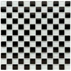 Merola Tile Tessera Square 11-3/4 in. x 11-3/4 in. Prague Glass Mesh-Mounted Mosaic Tile