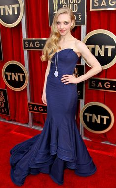 Adorei o vestido da Amanda Seyfried no SAG Awards!