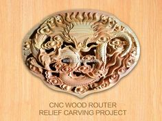CNC router for relief carving project