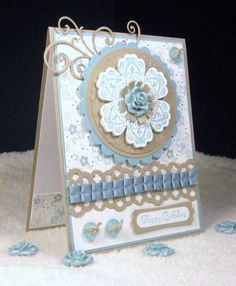 Birthday Blues by pam124 - Cards and Paper Crafts at Splitcoaststampers
