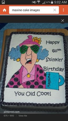 Wondrous 17 Best 60Th Birthday Cakes Images 60Th Birthday Cakes 60Th Personalised Birthday Cards Paralily Jamesorg
