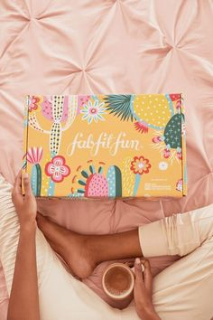 Cute and fun packaging design for a feminine subscription box branding. Ethno and Mexican abstractions come together and are mixed with colorful patterns and boho inspired elements for a vibrant, joyful and playful box design and packaging.