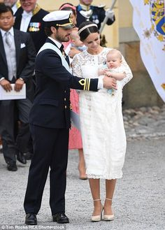 In a statement following his birth, King Carl and Queen Queen Silvia said: 'We…