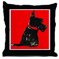 Scottie Quilts, Pillows & Linens on Pinterest Scottie Dogs, Scottish Terriers and Dog Quilts