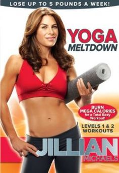 "Jillian Michaels: Yoga Meltdown - Jillian Michaels, winning trainer on NBC's The Biggest Loser,"" introduces a new yoga workout unlike any other. Combining hard-core yoga power poses with her dynamic training techniques, Jillian wil. - All product - DVD Yoga Fitness, Fitness Tips, Fitness Routines, Exercise Routines, Health Fitness, Lose 5 Pounds, Losing 10 Pounds, 20 Pounds, Jillian Michaels Yoga"