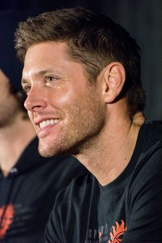 Jensen Ackles - love when he does that!