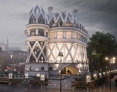 """Check out new work on my @Behance portfolio: """"Conceptual design of the mansion in London"""" http://be.net/gallery/62255361/Conceptual-design-of-the-mansion-in-London"""