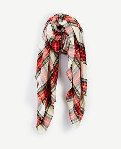 Thumbnail Image of Color Swatch 4011 Image of Tartan Plaid Scarf