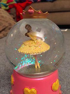 Disney Princess Brave-Beauty Belle snow globe.
