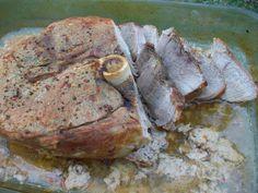 How to cook a fresh ham roast