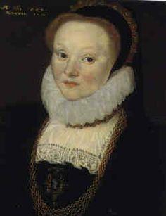 "Joan Smythe (daughter of Thomas ""Customer"" Smythe and Alice Judde) by Cornelius Ketel, 1579"