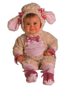 Pink Lamb Infant Costume For Halloween