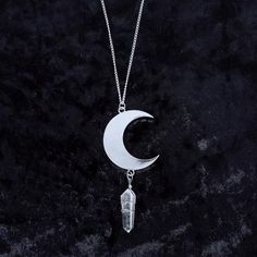Moonlight Pendant - Witch - Goth - Nu Goth - Witch Worldwide