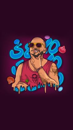Residente Sexo Lockscreen Créditos de esta obra de arte: @abueloleviatan1992 Good Raps, Daft Punk, Eminem, Deadpool, Hip Hop, Posters, Cool Stuff, Anime, Wallpaper Downloads