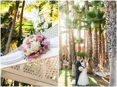 Fun and sweet pastel wedding at Bahia Resort in San Diego, CA || Photography by Shelly Anderson Photography || www.shellyandersonphotography.com