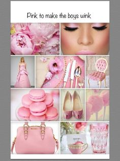 Luxe and Kisses - Moodboard