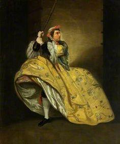 David Garrick as John Brute in 'The Provok'd Wife' by Vanbrugh, Drury Lane, 1763