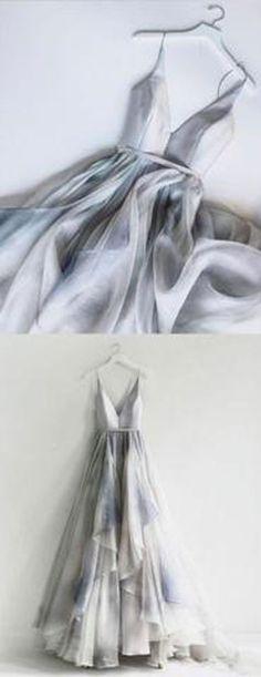 Popular Elegant Unique V Neck Inexpensive Long Prom Dresses, PM0779 #promdress #longpromdress