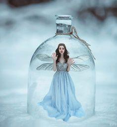 A fotografia surreal e fashion com belas modelos de Svetlana Belyaeva Fairy Photography, Creative Photography, Portrait Photography, Beautiful Fantasy Art, Fantasy Kunst, Jolie Photo, Fine Art, Fantasy World, Photo Manipulation