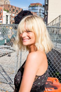 How Long Are You in Town For? 8 Fashion Friends Talk Packing and Emojis - Man Repeller Gold Blonde Hair, Golden Blonde, Friends Fashion, Bob Hairstyles, Hair Inspiration, Beautiful People, Beauty Hacks, Celebrity Style, Short Hair Styles