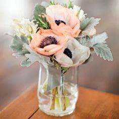 Peach wedding inspiration board (image via Once Wed blog)