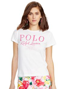 Flagship Cotton Tee - Polo Ralph Lauren Short-Sleeve - RalphLauren.com