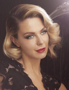 Beauty Breakdown: Jennifer Hawkins' Smokey House of Dior Femme Fatale Look from the Myer AW2012 Beauty Book