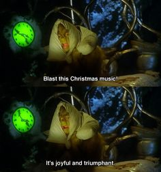 I was in a grinchy mood for Christmas and when Christmas music came on this is what i did.