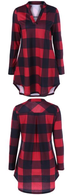 #Plaid #Shirt #Fashion | Up To 88% OFF | Start From $1.99 | Sammydress.com