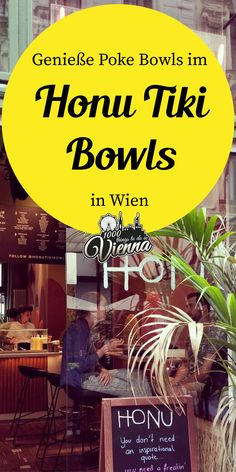 Einmal Urlaubsfeeling im Zwischenstopp, bitte: Holt im Honu Tiki Bowls eure Prise Hawaii auf die Zunge. Hawaii, Dont Need You, Poke Bowl, Restaurant, Vienna, Things To Do, Food, You're Welcome, Vacations