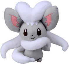 Pokemon Best Wishes Black And White Plush Doll Takaratomy - N-23 - Cinccino/Chillaccino