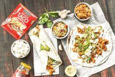 Hyvää alkavaa elokuuta! Alkavassa arjessa pientä helpotusta tuo Hellapoliisin viikon ruokalista. Perheen Pikkukokit voivat tehdä vaikka salaattipizzan tai tonnikalapastan. Mukavaa arkea! Tex Mex, Santa Maria, Salsa, Tacos, Mexican, Ethnic Recipes, Wrapit, Food, Eten