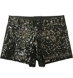 Howriis Women's All Over Sequins Solid Color Glitter Shorts - http://darrenblogs.com/2016/06/howriis-womens-all-over-sequins-solid-color-glitter-shorts/