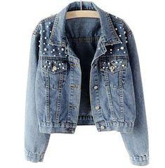 Oversized Denim Jacket, Denim Coat, Denim Jackets, Jackets For Women, Clothes For Women, Vintage Jeans, Streetwear Fashion, Korean Fashion, Women's Fashion