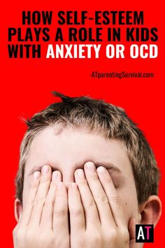 OCD and anxiety can greatly affect self esteem. Here is how self-esteem plays a role in children with anxiety or OCD and how you can help them when they experience social anxiety, perfectionism or moral OCD. Ocd In Children, Anxiety In Children, Adhd Kids, Social Anxiety, Stress And Anxiety, How To Calm Anxiety, Mental Health Matters, Anxiety Relief