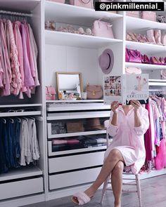 Helpful Closet Organization Tips Featuring The IKEA Pax Wardrobe Ikea Closet Design, Bedroom Closet Design, Wardrobe Design, Closet Designs, Bedroom Storage, Bedroom Decor, Ikea Pax Closet, Ikea Pax Wardrobe, Wardrobe Room