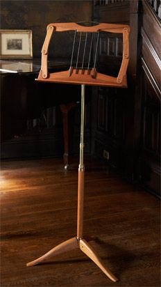 Wooden Music Stands - Anderson Music Stand - Folding Wood Stand