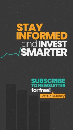 Become a Smarter Investor in just 5 MinutesGet a daily email that makes sense of the stock market! Stay informed and invest smarter...for FREE! #millionairesclub #richinvestors #investing #wallstreet #trading #stocks #grind #cash #money Financial Quotes, Financial Tips, Make Money From Home, How To Make Money, How To Become, Chartered Financial Analyst, Stock Market Basics, Peer To Peer Lending, Money Trading