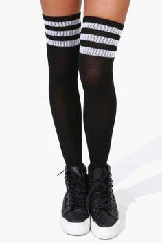 Cancer Hope Butterfly Womens Knee High Socks Winter Warm Boot Socks Tube Stockings