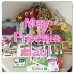 MAY FREEBIES: Everything That I Got For FREE This Month!