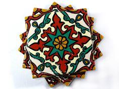 Talavera Style Coasters/Tiles.   Perfect housewarming or wedding gift!