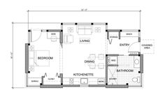 FabCab 550M prefab home plans.